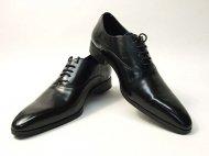 czarne buty biznesowe